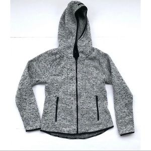 Calvin Klein Performance Gray Hooded Jacket